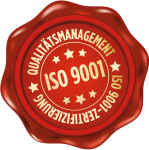 Siegel-ISO-Zertifizierung